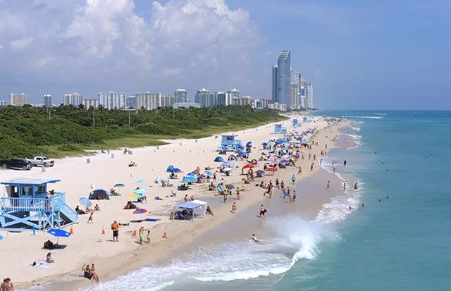 Haulover Beach: Playa nudista en Miami