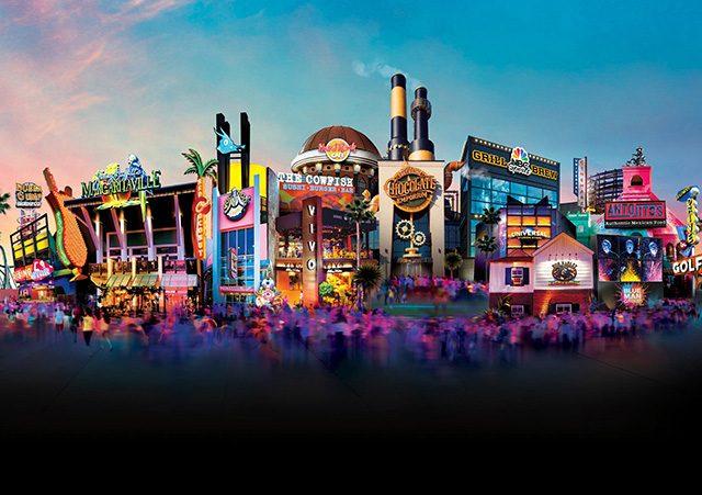 Universal CityWalk en Orlando: restaurante y atracciones