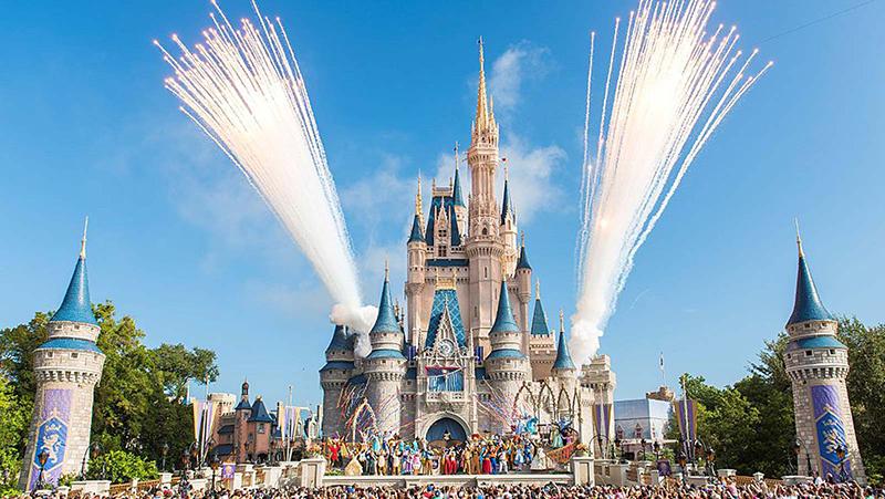 Mapa del Parque Disney Magic Kingdom en Orlando