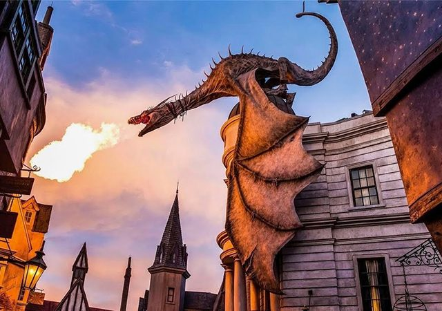 Harry Potter and the Escape from Gringotts en Orlando