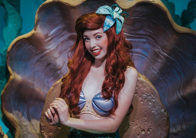 Donde encontrar a la Princesa Ariel | Parques Disney