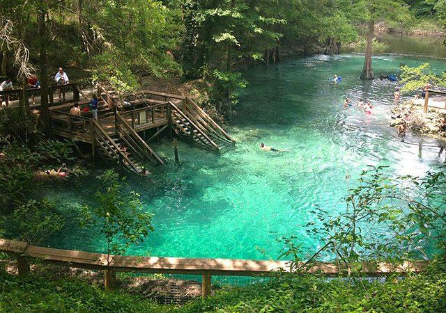 Parque Blue Spring en Florida