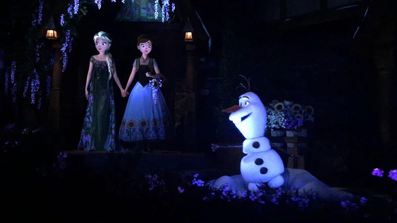 Atracción de Frozen en Disney Epcot en Orlando