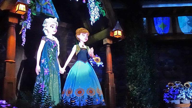 Juguete de Frozen en Disney Epcot en Orlando