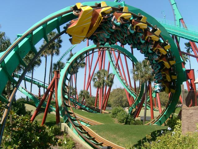 Parque Busch Gardens en Tampa