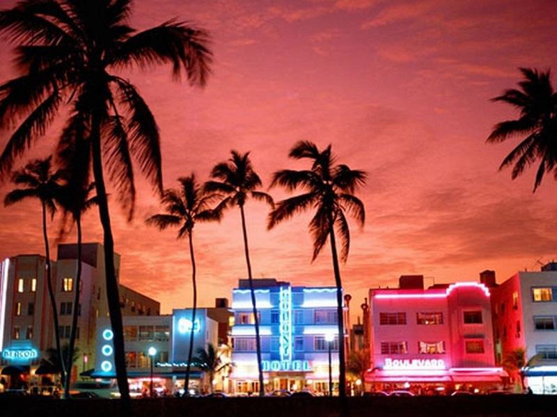 Clima y temperatura en Miami