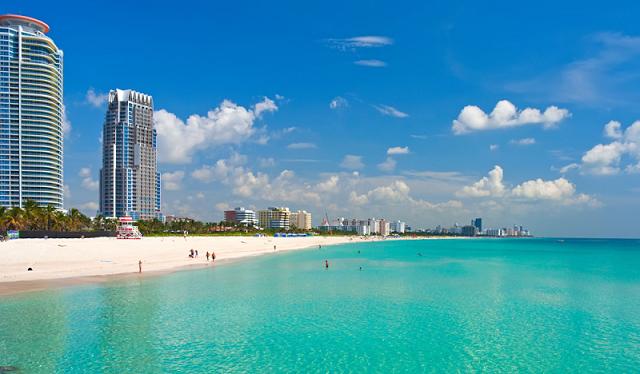 Visitar la playa de Miami Beach