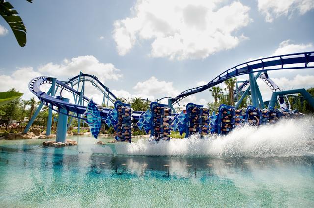 Parque SeaWorld en Orlando