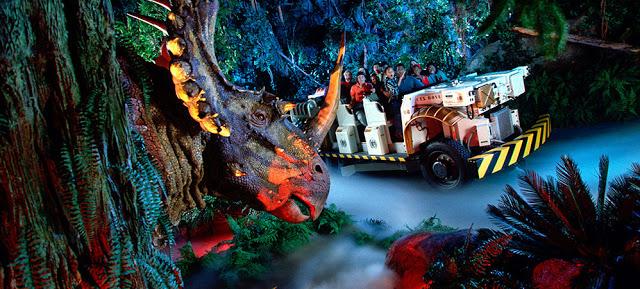 Dinosaur en Animal Kingdom en Disney en Orlando