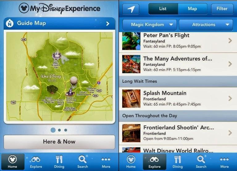Aplicación de Disney Orlando