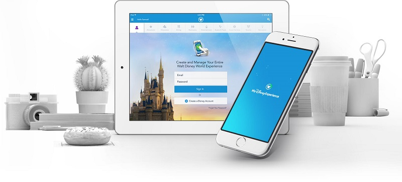Aplicación de Disney Orlando: My Disney Experience App
