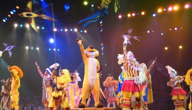 Musical del Rey León en Animal Kingdom en Orlando