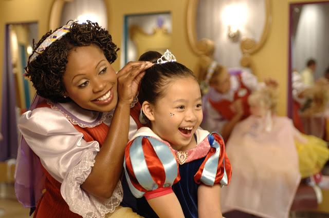 Transformando las niñas en princesas en Magic Kingdom