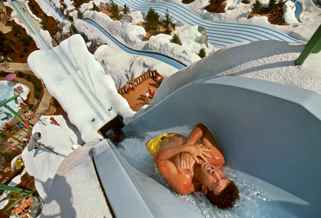 Atracción de Parque Disney Blizzard Beach en Orlando