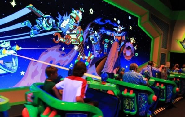 Buzz Lightyear's Space Ranger Spin en Disney