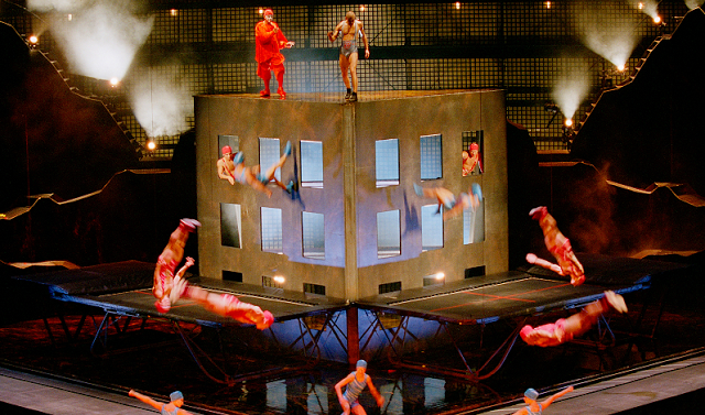 Show del Cirque Du Soleil en Orlando