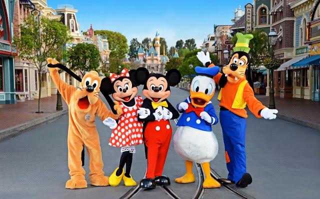 Personajes de Disney en Orlando