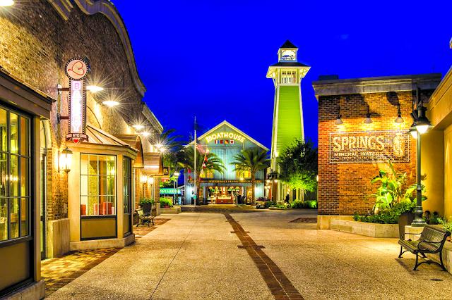 Estabelecimientos en Disney Springs en Orlando