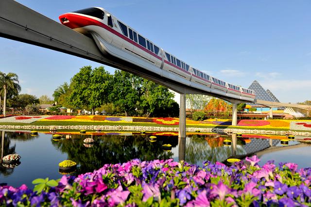 Tecnología en Parque Epcot de Disney en Orlando