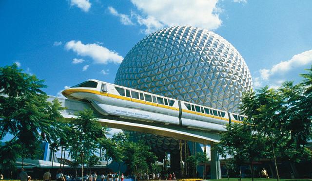 Spaceship Earth Parque Epcot Orlando