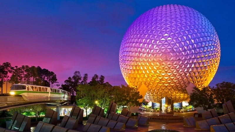 10 pabellones de Epcot en Orlando