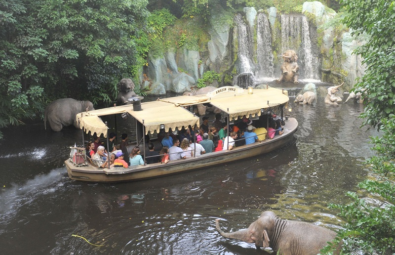 Jungle Cruise en Magic Kingdom en Disney