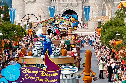 Desfiles del Parque Magic Kingdom de Disney en Orlando
