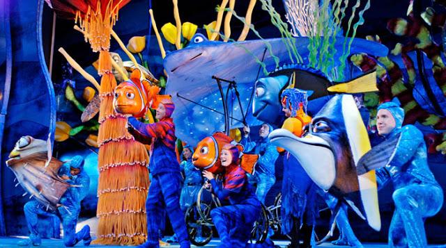 Show de Buscando a Nemo en Animal Kingdom
