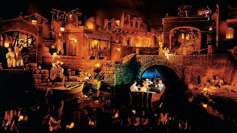Pirates of Caribbean en Magic Kingdom