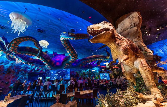 Restaurante T-Rex Disney Springs Orlando