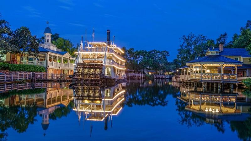 Riverboat Square en Disney Springs