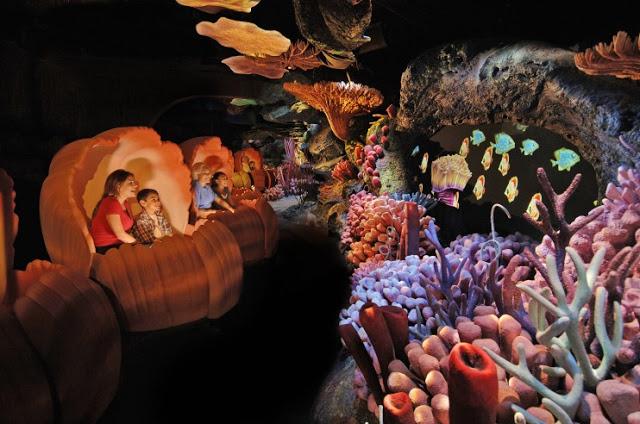 The Seas With Nemo and Friends en Epcot en Disney