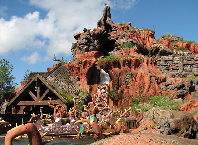Splash Mountain en Magic Kingdom en Disney