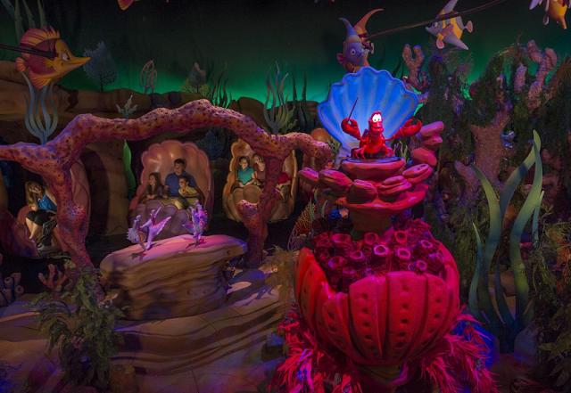 Under the Sea em Magic Kingdom en Orlando