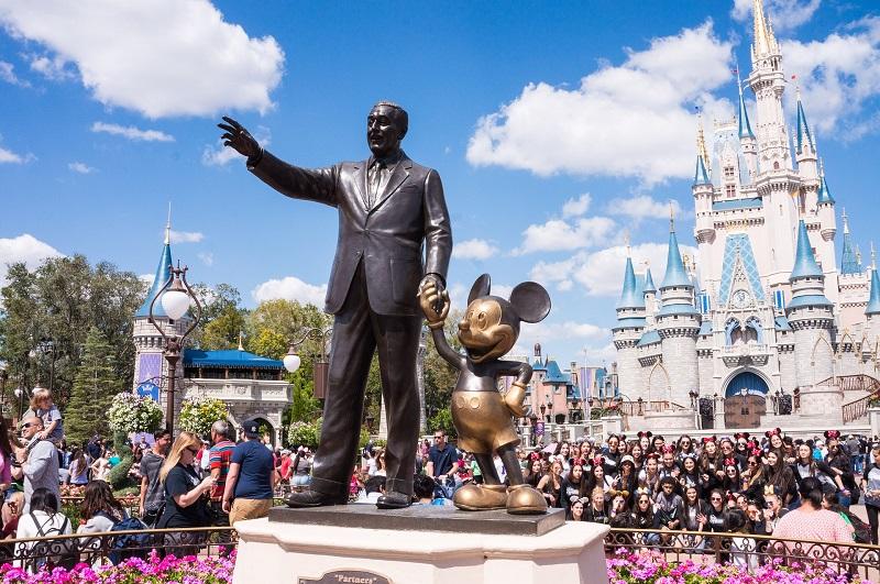 Calendario de multitudes en los parques de Disney Orlando 2018