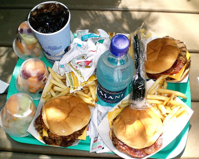 Comida en parque acuático Blizzard Beach Orlando