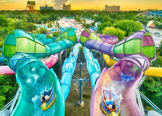 Juguetes y atracciones que más mojan en Orlando