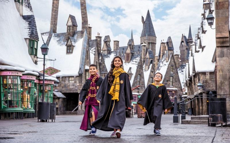 Parque Temático del Mundo de Harry Potter en Orlando