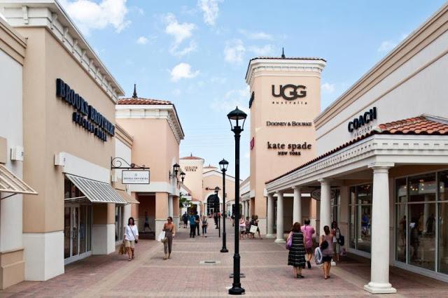 Estabelecimientos en Outlet de Orlando