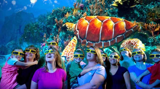 Turtle Trek en Sea World