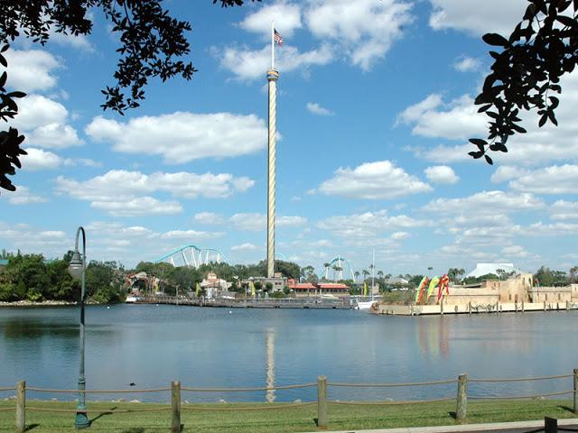 Sky Tower en Sea World en Orlando