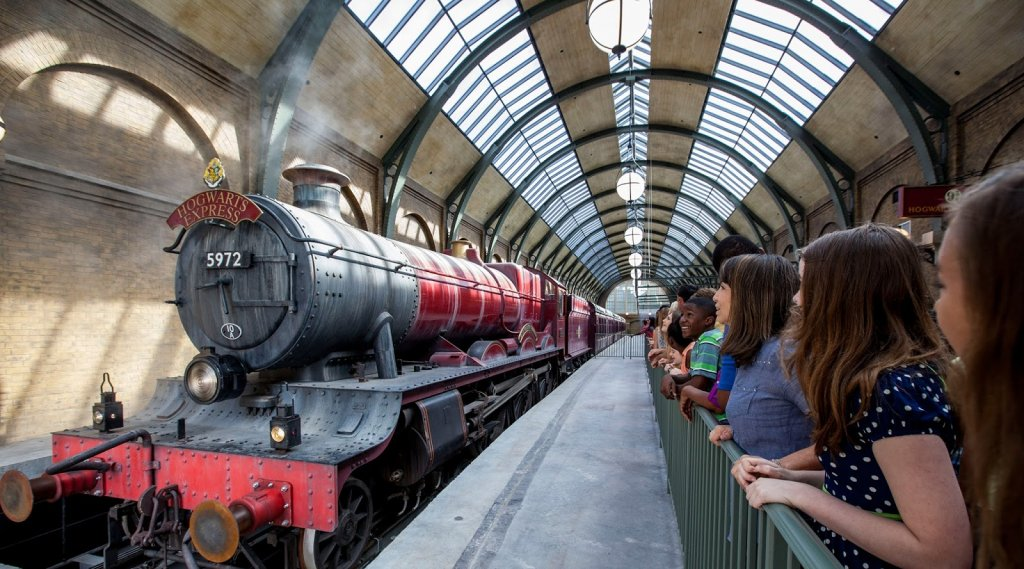 Tren Hogwarts Express de Harry Potter en Orlando