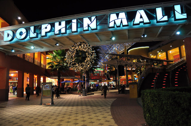 Shopping Dolphin Mall en Miami
