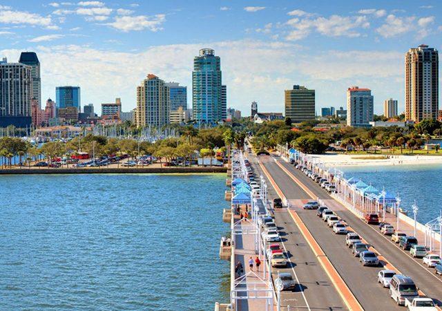 Distancia y mejores caminos entre Miami y Orlando