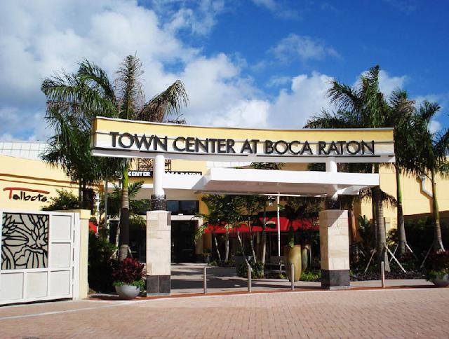 Centro Comercial en Boca Ratón en Miami