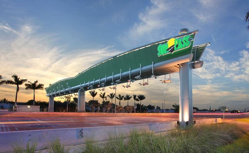 Peajes, Sunpass y las Express lanes en Miami y Orlando – Florida