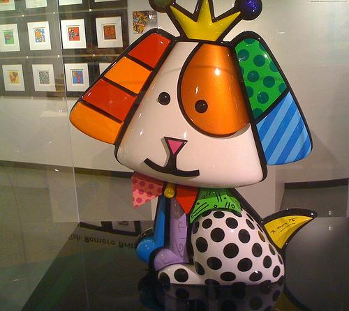 Galería de arte de Romero Britto en Miami