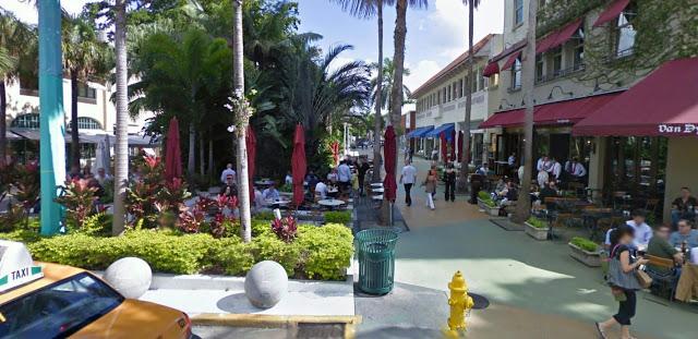 Estabelecimientos en Lincoln Road en Miami