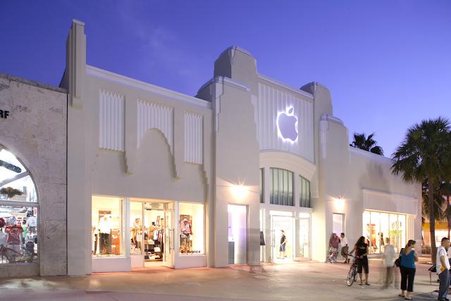 Compras en Lincoln Road en Miami: Apple