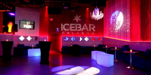 Interior de IceBar en Orlando